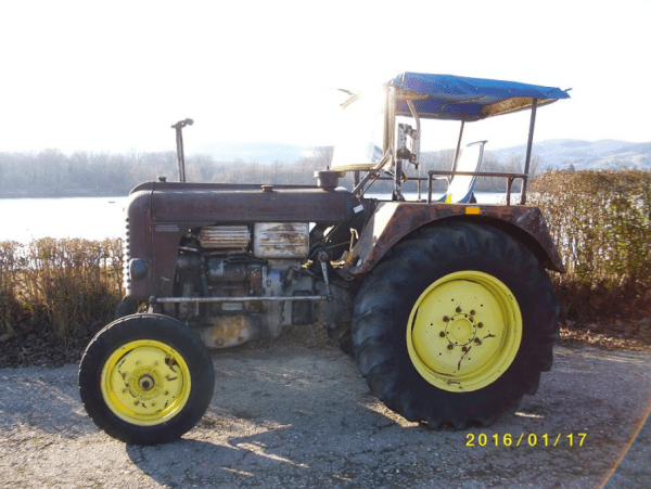 Steyr Tractor ss
