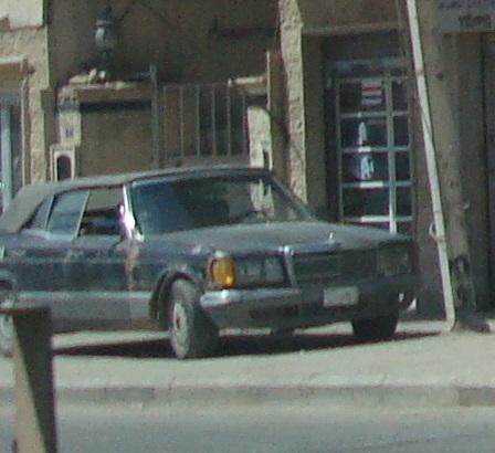 W126 Closeup