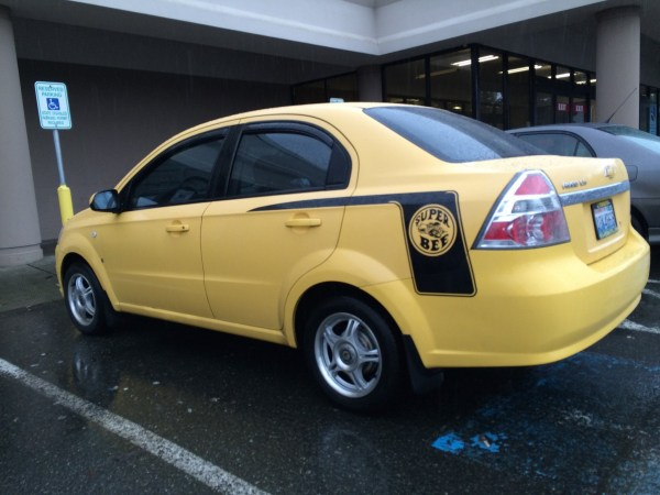 chevrolet aveo super bee