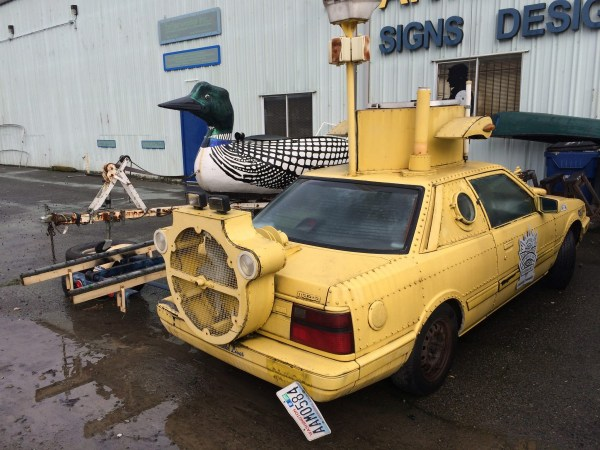 mazda 626 yellow submarine 2