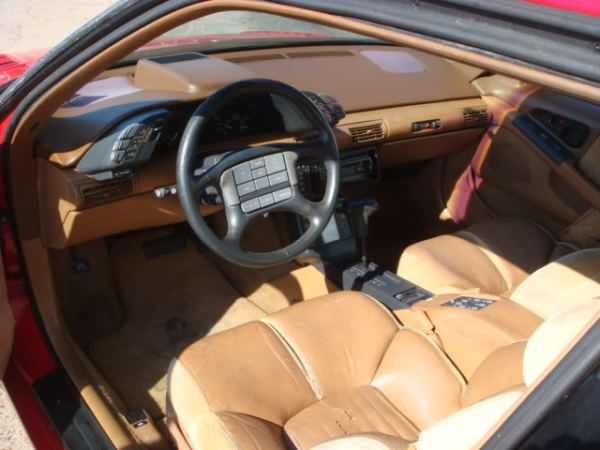 pontiac grand prix mclaren interior
