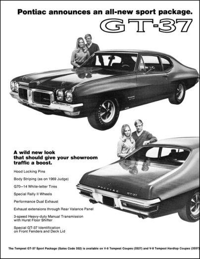 pontiac gt-37 1970