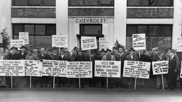 1945 uaw gm strike