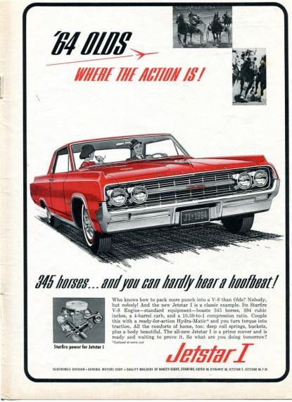 1964 oldsmobile jetstar ad