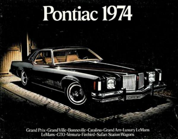 1974 Pontiac brochure cover, Grand Prix CC