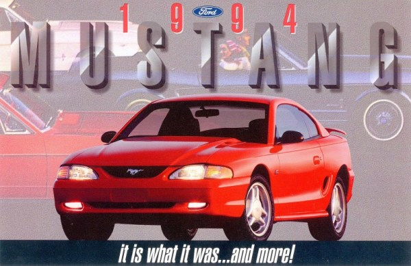 1994 Ford Mustang brochure CC resized