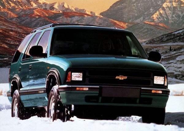 1995 chevy blazer green