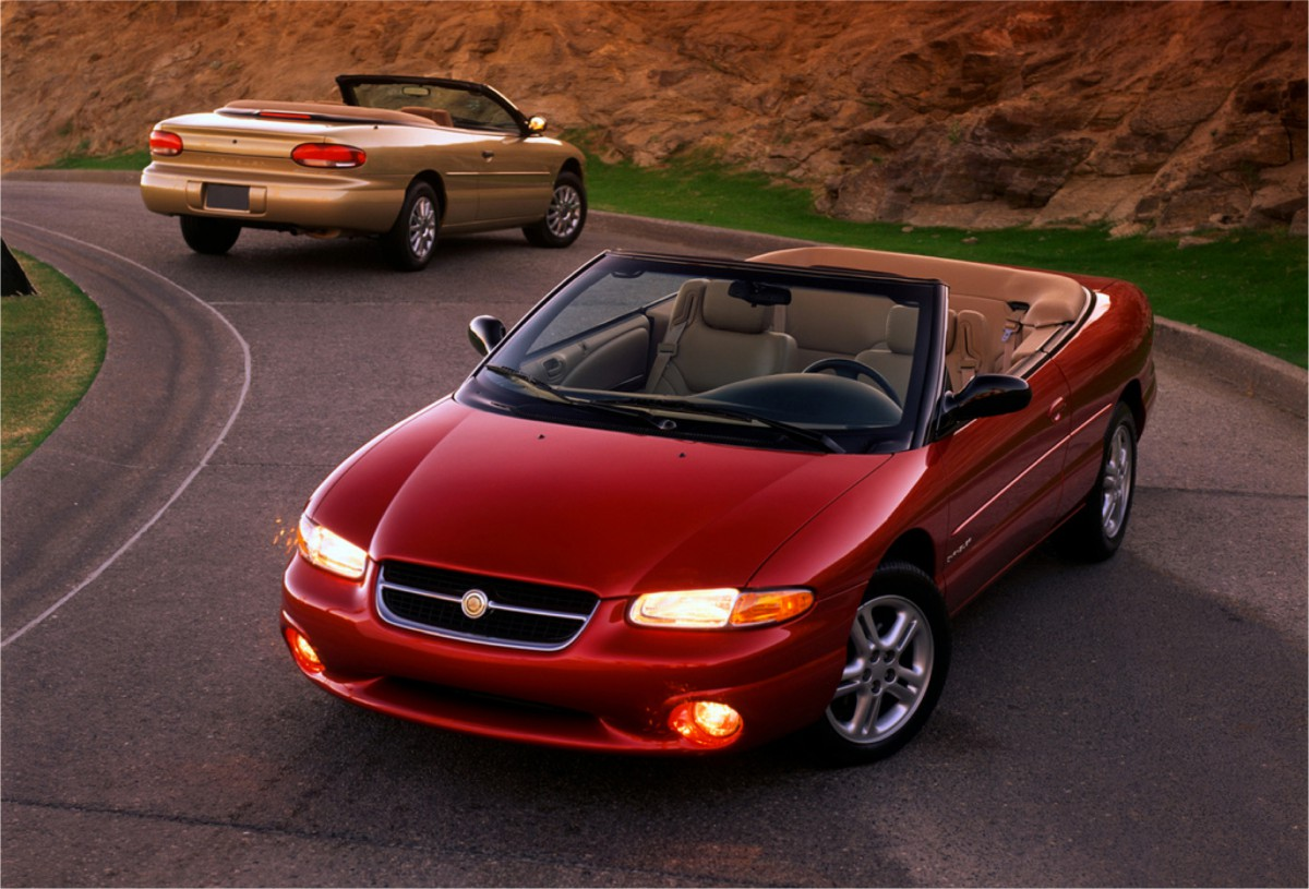 curbside classic 2002 chrysler sebring lxi fading hope. Black Bedroom Furniture Sets. Home Design Ideas