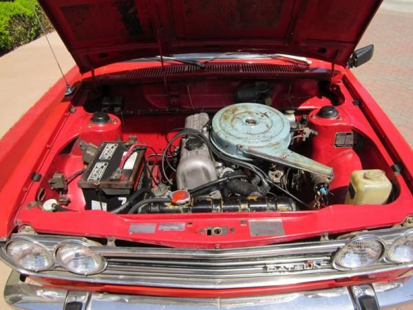 3 - Datsun 510 Engine Bay