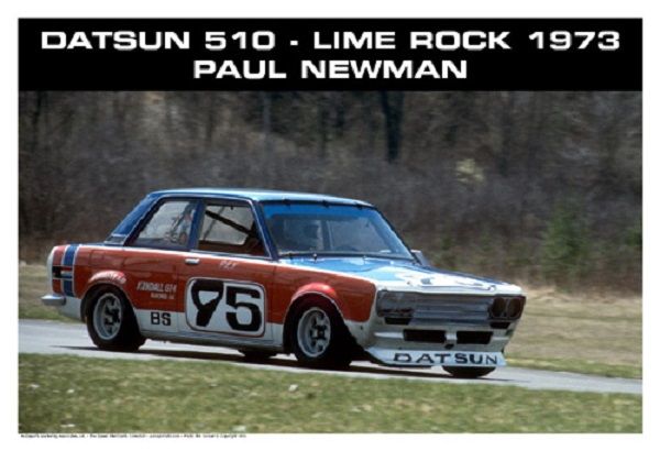 6 - Datsun 510 P L Newman