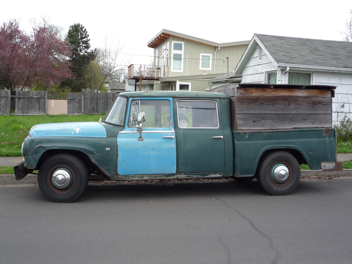 Cc Capsule 1964 International Travelette The Proto Double Cab Pickup Ford Crew