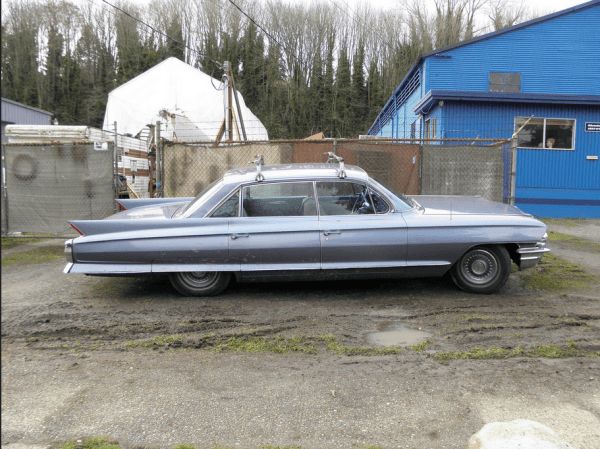 Cadillac 1962 roof rack s