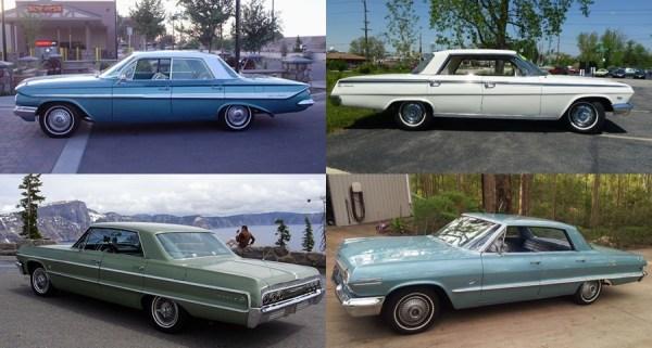 Chevrolet 1961 4 door hdtp-tile