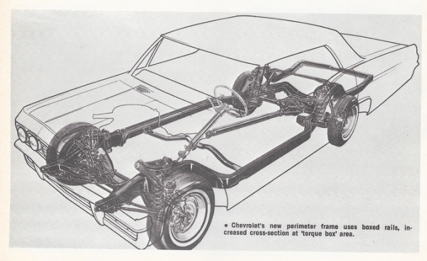 Chevrolet 1965 chassis