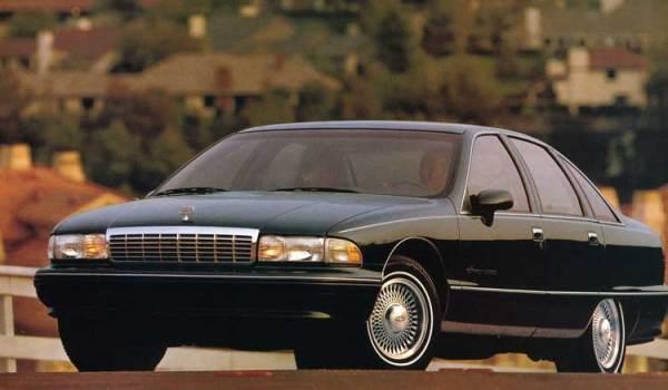 Chevrolet 1992 caprice ad