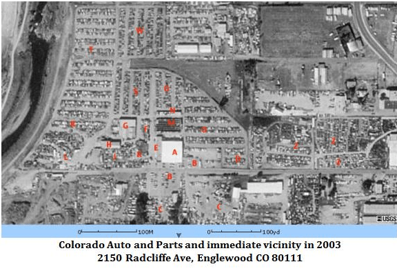 Colorado wrecking yard