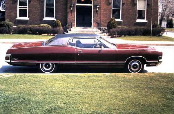 Mercury 1972 slide side
