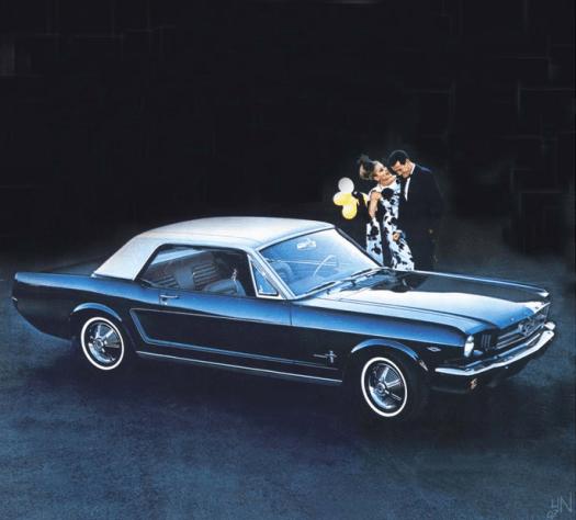 Mustang 1964.5 vinyl top