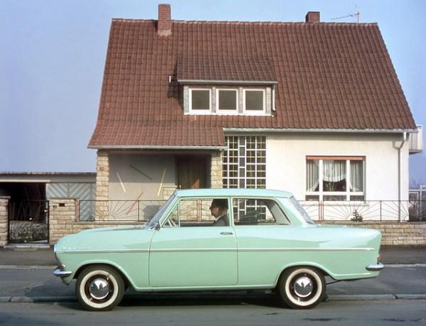 Opel Kadett A green