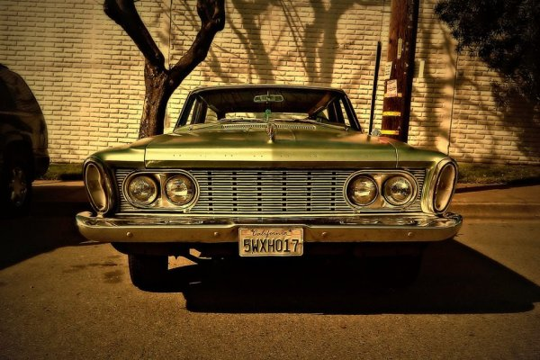 Plymouth 1963 front