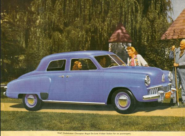 Studebaker 1947 Champ 4 door