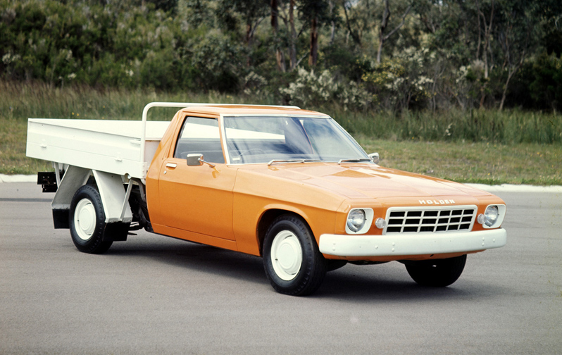 Curbside Classic 1977 80 Hz Holden One Tonner A Genuine Grandpa S Axe Curbside Classic