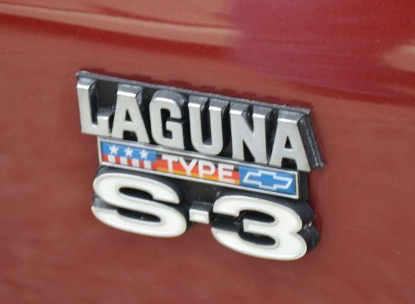 1975 Chevy Laguna S3 badge
