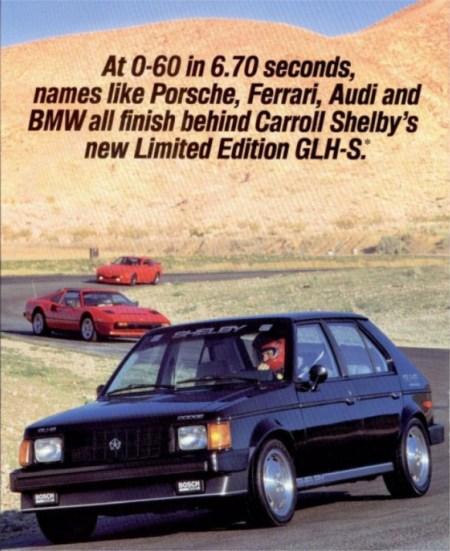 1986 Shelby Omni GLH