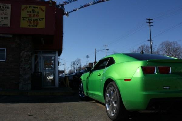 373 - 2009 Synergy Green Chevrolet Camaro, Angelo's Flint February 2011