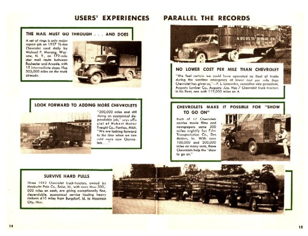 Chevrolet 1946 Records Still Stand-14-15