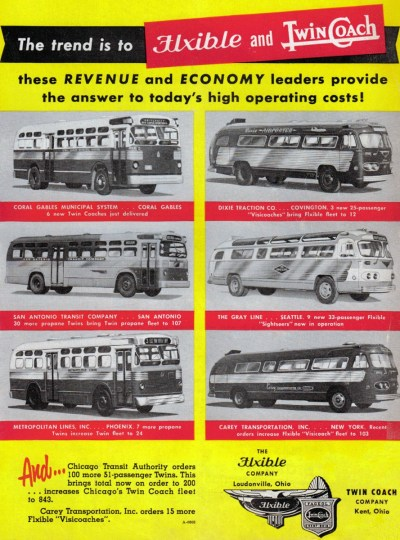 Flxible Twin Coach ad