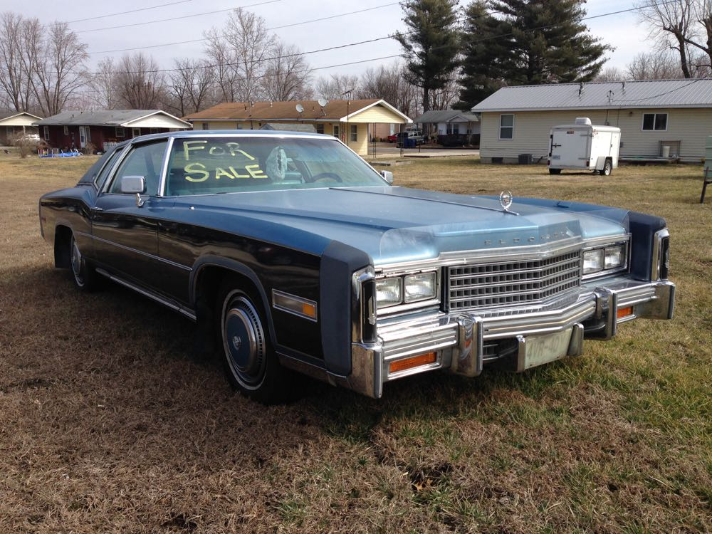 coal 1978 cadillac eldorado reason 425 on why cadillacs are underappreciated. Black Bedroom Furniture Sets. Home Design Ideas