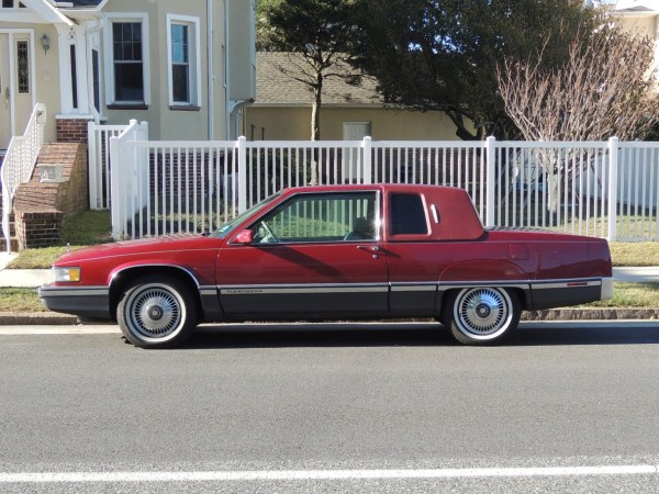 1991 Cadillac Fleetwood Coupe side