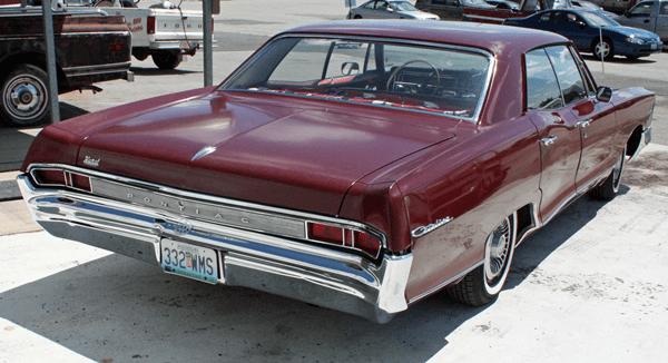 Pontiac 1965 catalina 4 door rq hdtp 600