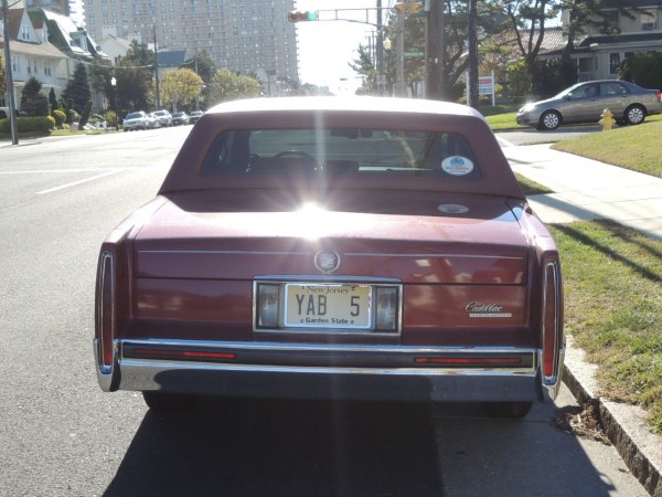 1991 Cadillac Fleetwood Coupe rear