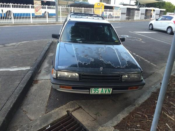 mitsubishi magna elite wagon 4
