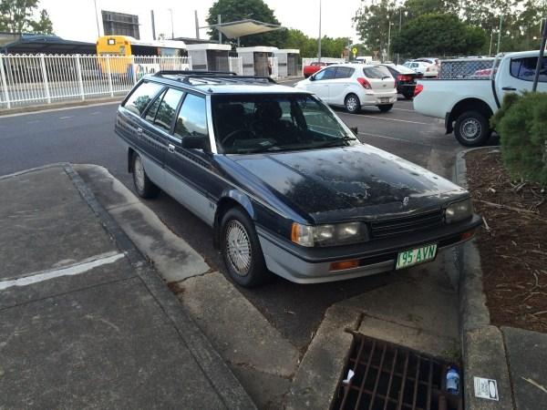 mitsubishi magna elite wagon 5