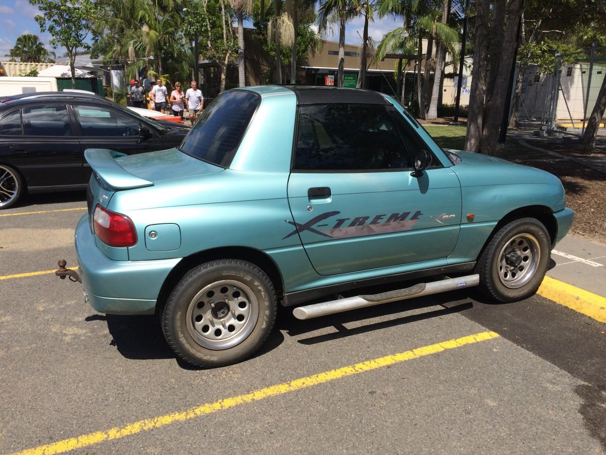 Curbside Classic 1996 98 Suzuki X 90 Ahead Of Its Time