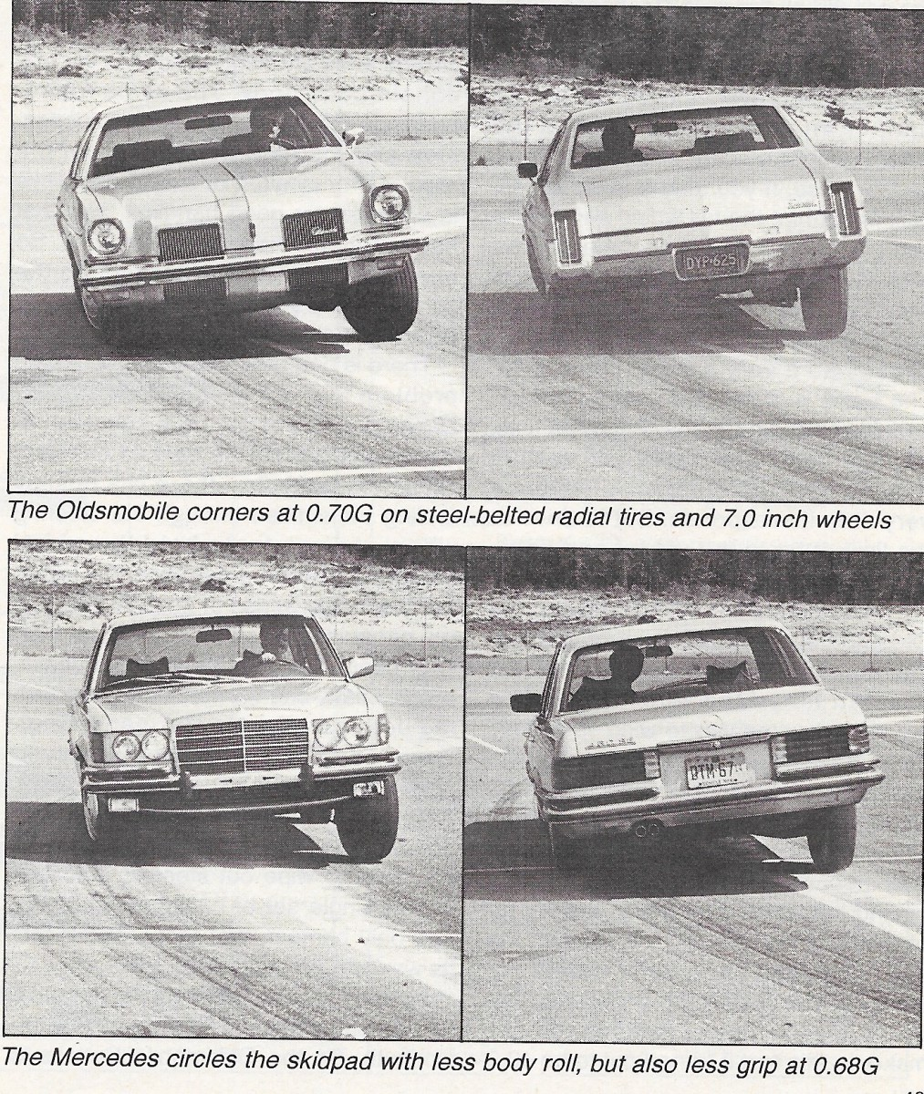 Vintage review 1973 oldsmobile cutlass salon versus 1973 mercedes 450se no joke car and driver compares a colonnade to an s class