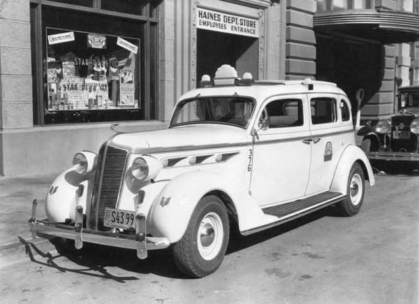 1935 DeSoto Taxi