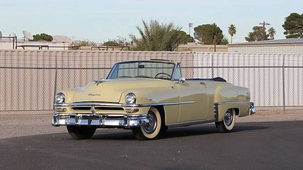 1953 Chrysler Windsor Convertible