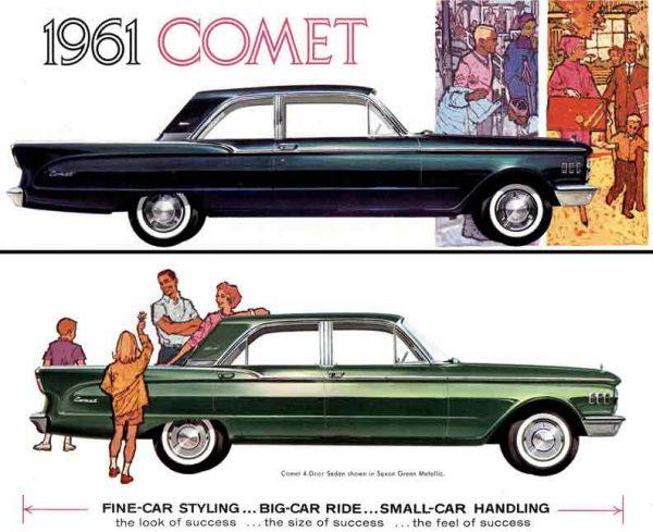 1961 Comet Ad