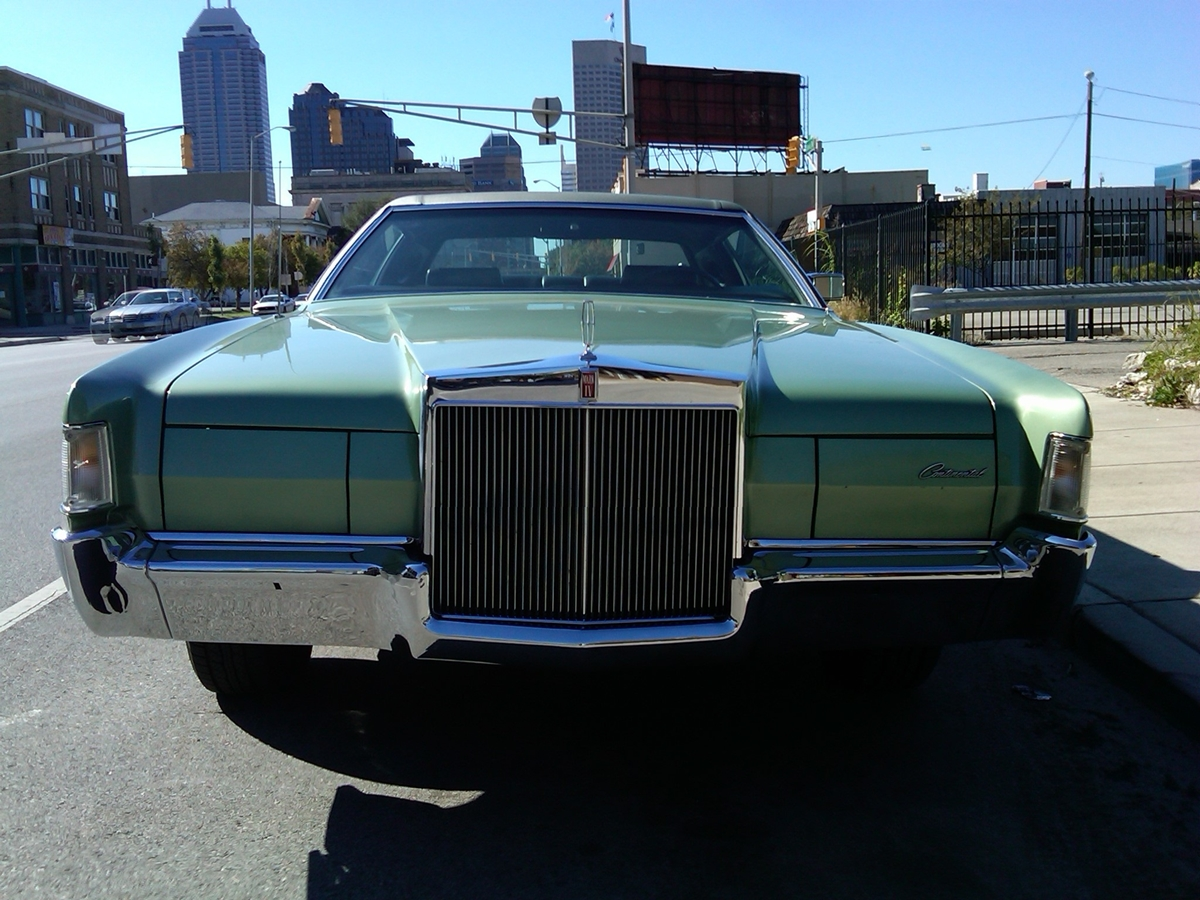 Curbside Classic 1972 Lincoln Continental Mark Iv About Fathers 1954 Ii 1972linccontmkiv05