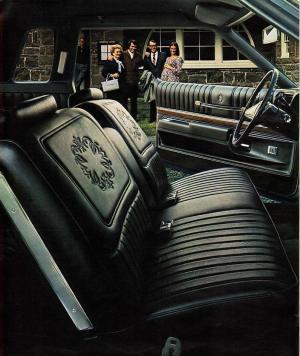 1973 Supreme Interior