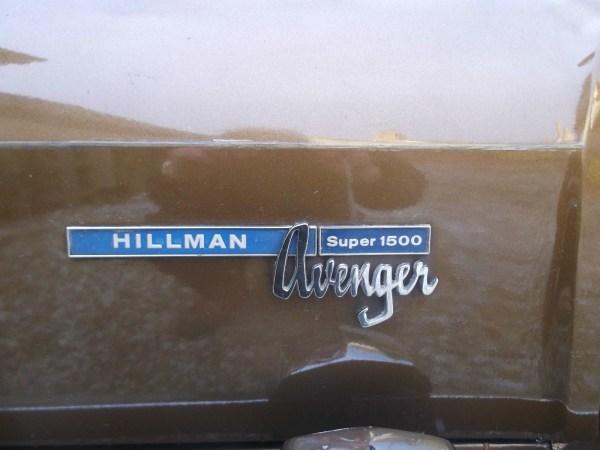 1973 hillman avenger estate.2