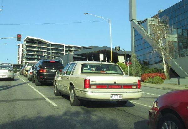 1997 Lincoln Town Car rear