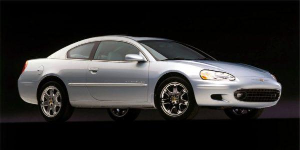 2001 Sebring coupe 3:4
