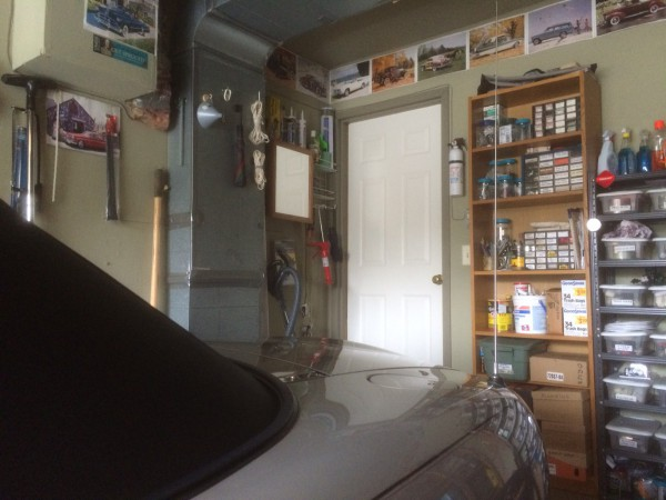 Current Garage with Medicine Cabinet near door