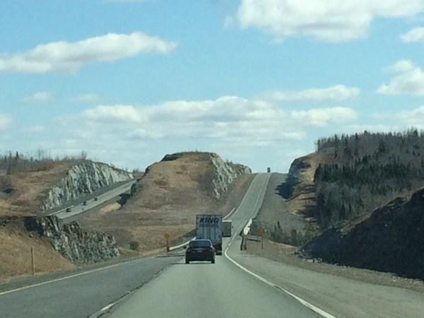 Into New Brunswick