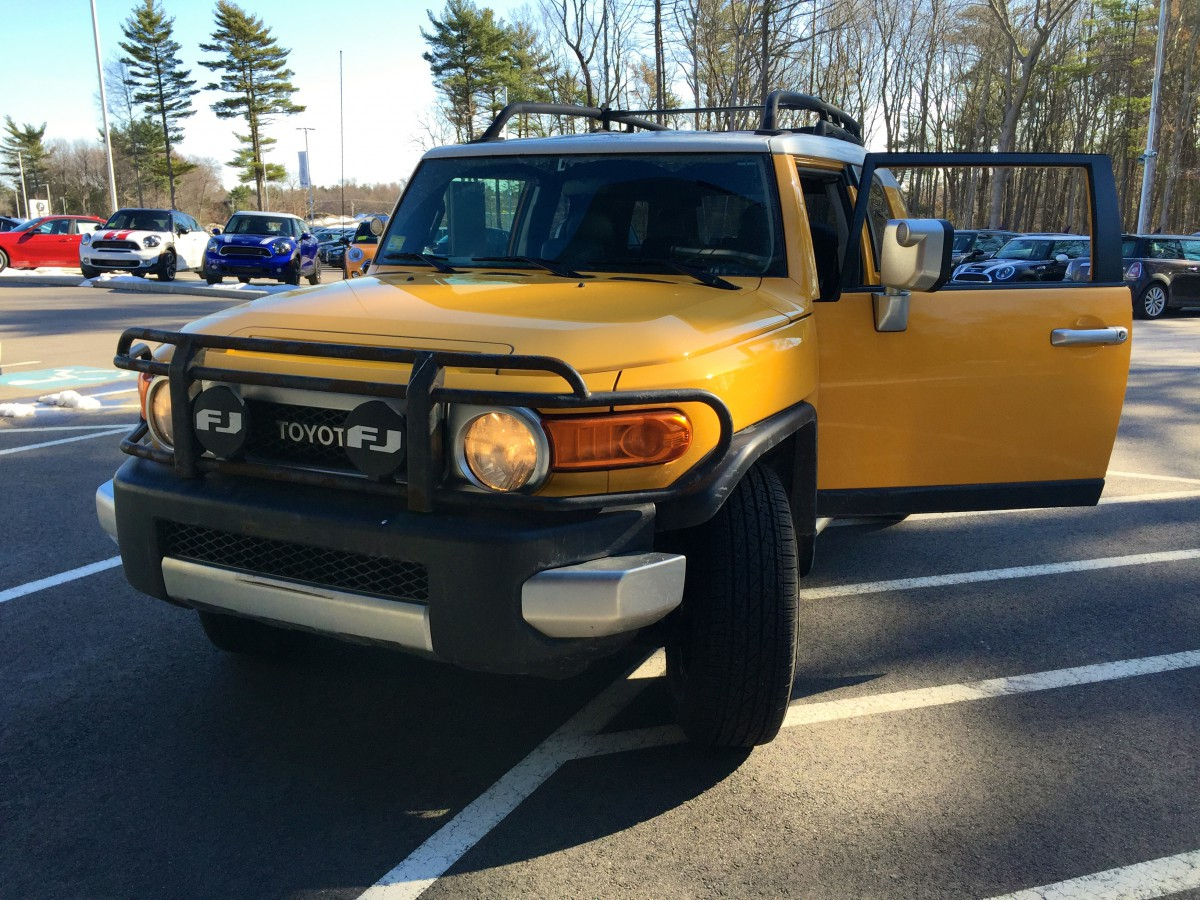 Future Cc Driving Impressions 2007 Toyota Fj Cruiser Colonel Mustard Mega In Any Event The Was A Fun And Interesting Ride For Day I Only Disappointed Didnt Get Chance To Take It Off Road
